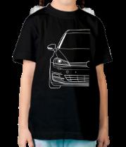 Детская футболка  MK7 TDI cut
