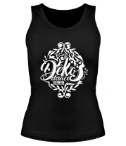 Женская майка борцовка ДЕКОС (логотип)