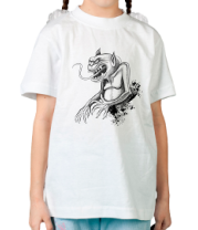 Детская футболка  Monster Artistic Drawing