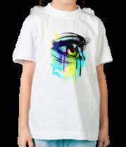 Детская футболка  Цветные слёзы