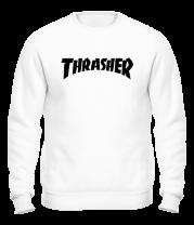 Толстовка без капюшона  Thrasher skate life