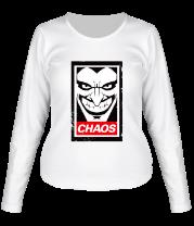 Женская футболка с длинным рукавом Джокер