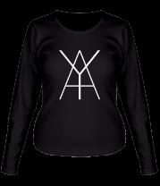 Женская футболка с длинным рукавом Schokk Ya Art