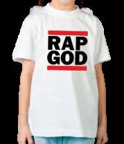 Детская футболка  Rap God
