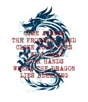 Женская футболка с длинным рукавом Dragon
