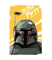 Женская футболка  Boba Fett