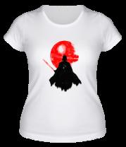 Женская футболка  Dark | Darth vader, Watercolour