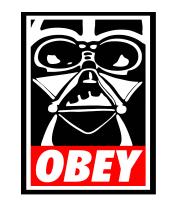 Женская футболка с длинным рукавом Star Wars Obey