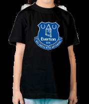 Детская футболка  Everton big logo