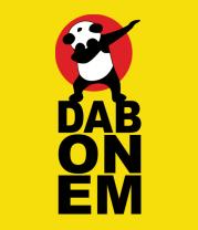Детская футболка  DAB ON EM