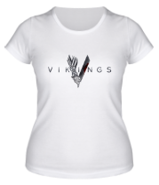 Женская футболка  Викинги