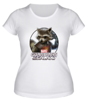 Женская футболка  Rocket