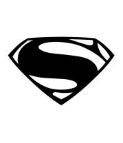 Женская футболка  Superman logo from Batman v Superman Dawn of Justice