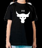Детская футболка  Dwayne Johnson The Rock