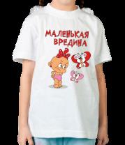 Детская футболка  Маленькая вредина