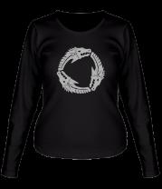Женская футболка с длинным рукавом Game of Thrones Targaryen