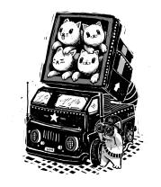 Детская футболка  Ракета Кошек