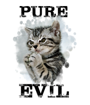 Детская футболка  Чистое зло