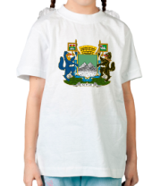 Детская футболка  Герб города Курган