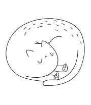 Детская футболка  Cat ripndip