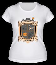 Женская футболка  A Runner's Code