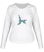 Женская футболка с длинным рукавом To Live & Die in S.A.