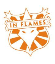 Бейсболка In Flames