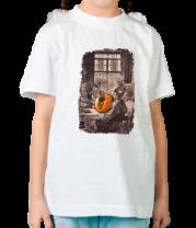 Детская футболка  Хэллоуин монахов