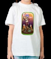 Детская футболка  Хэллоуинский рисунок
