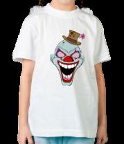 Детская футболка  Сумасшедший клоун