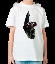 Детская футболка  Клоун робот
