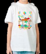 Детская футболка  The Birthday Party Clown Shark
