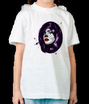 Детская футболка  Клоун девушка