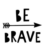 Детская футболка  Be brave
