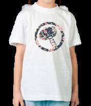 Детская футболка  Цветочные Тор