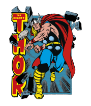 Детская футболка  Могучий Тор