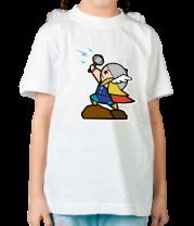 Детская футболка  Кавайный Тор