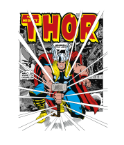 Женская футболка  Могучий молот Тора