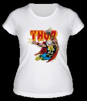 Женская футболка  Разящий молот