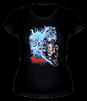 Женская футболка  Тор, Бог Грома