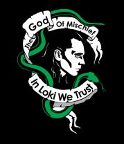 Женская футболка с длинным рукавом Бог хитрости
