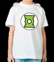 Детская футболка  Символ Зелёного Фонаря
