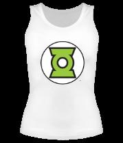 Женская майка борцовка Символ Зелёного Фонаря