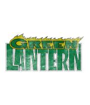 Детская футболка  Зелёный Фонарь (logo)