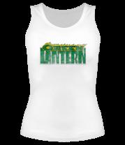 Женская майка борцовка Зелёный Фонарь (logo)