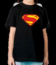 Детская футболка  Superman new logo