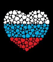 Толстовка без капюшона Сердце России