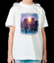 Детская футболка  Звуки зимы