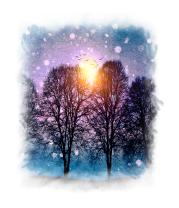 Толстовка Звуки зимы