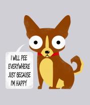 Толстовка без капюшона Собачья логика